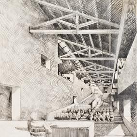 Progetto di ristrutturazione del Castello Savelli <br/>a Palombara Sabina, Roma