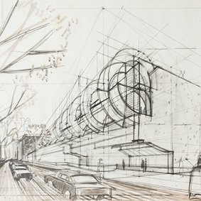 Progetto per un Museo della Scienza in via Giulia a Roma
